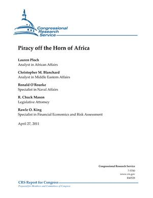 Piracy off the Horn of Africa