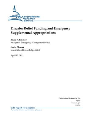 Disaster Relief Funding and Emergency Supplemental Appropriations