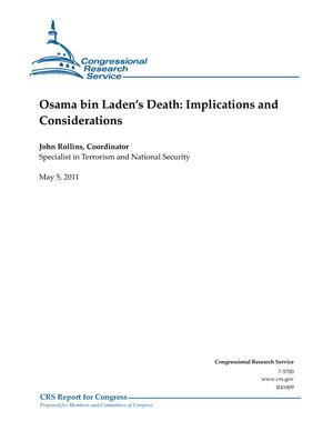 Osama bin Laden's Death: Implications and Considerations