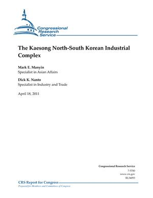 The Kaesong North-South Korean Industrial Complex
