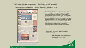 Digitizing Newspapers with the Quartz A0 Scanner