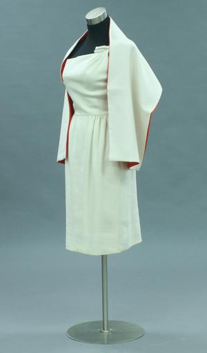 Primary view of object titled 'Ensemble - Dress and Stole'.