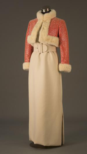 Primary view of object titled 'Ensemble - Dress and Bolero'.