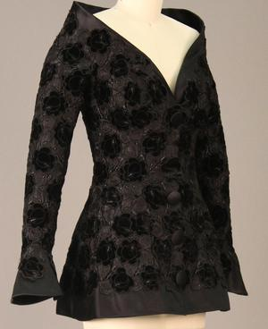 Primary view of object titled 'Evening Jacket'.