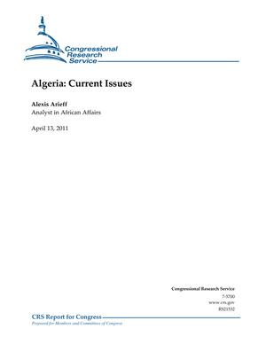 Algeria: Current Issues
