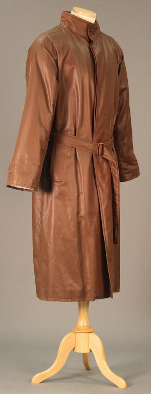 Primary view of object titled 'Men's Trench Coat'.