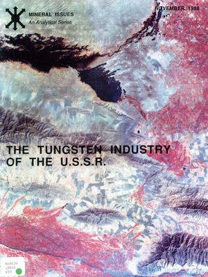 The tungsten industry of the U.S.S.R