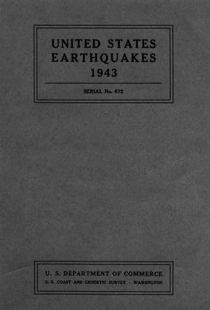 Primary view of object titled 'United States Earthquakes, 1943'.