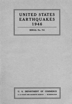 Primary view of object titled 'United States Earthquakes, 1946'.