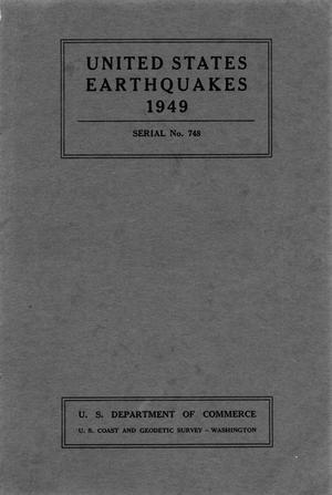 Primary view of object titled 'United States Earthquakes, 1949'.