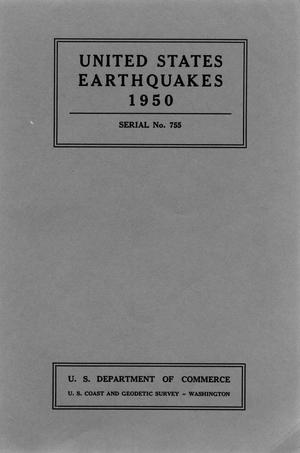 Primary view of object titled 'United States Earthquakes, 1950'.