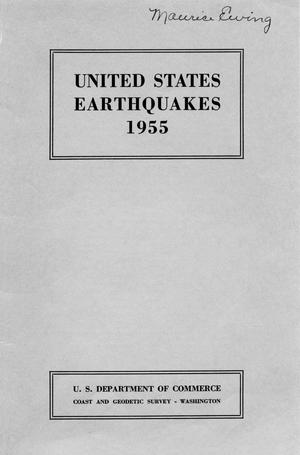 United States Earthquakes, 1955