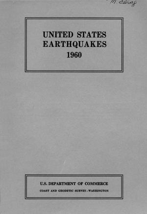 Primary view of object titled 'United States Earthquakes, 1960'.