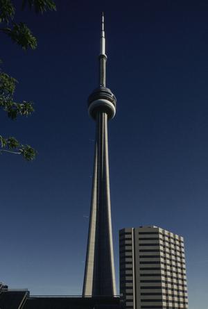 Primary view of object titled 'CN Tower'.