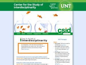 Center for the Study of Interdisciplinarity