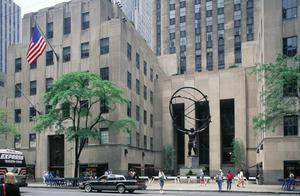Primary view of Rockefeller Center