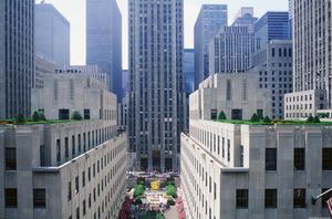 Primary view of object titled 'Rockefeller Center'.