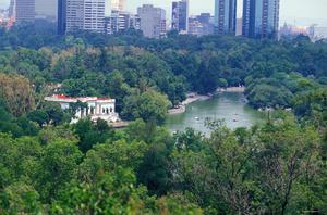 Primary view of object titled 'Chapultepec Park: Topographic Views'.