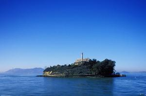 Alcatraz Island: Topographical View
