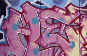 Primary view of object titled '[Graffiti, Venice Beach, California]'.