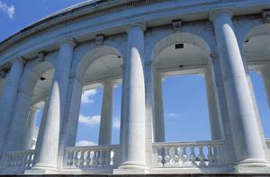 Primary view of Arlington National Cemetery