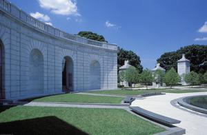 Primary view of object titled 'Arlington National Cemetery'.