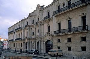 Primary view of object titled 'Havana Port Waterfront Monastery'.