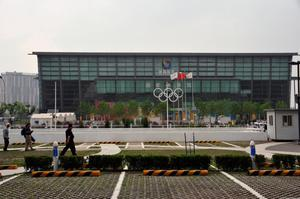 Primary view of object titled 'Beijing National Indoor Stadium'.