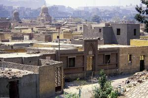 [View of the city of Cairo, Egypt]