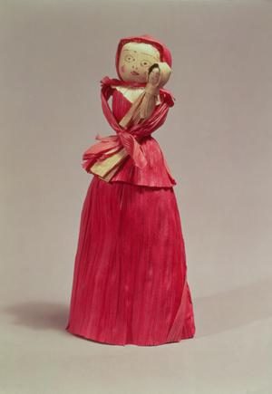 Primary view of object titled 'Corn Husk Doll'.