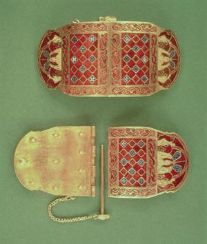 Shoulder Clasp From the Sutton Hoo Ship Burial