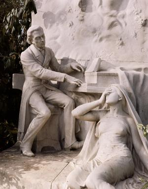 Primary view of object titled 'Monument to Frederic Chopin (1810-1849)'.