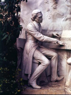Monument to Frederic Chopin (1810-1849)