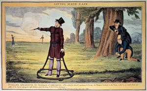 Primary view of object titled 'Living Made Easy: Duelling Apparatus for Gentlemen of Weak Nerves'.