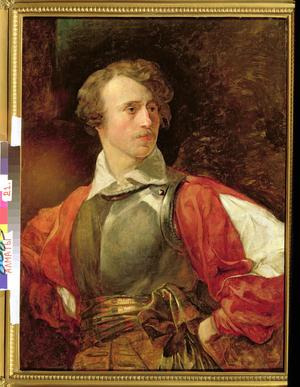 Primary view of Portrait of Vladimir Samoylov as Hamlet