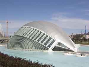 Primary view of object titled 'The City of Arts and Sciences'.
