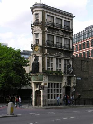 Primary view of object titled 'The Black Friar Public House'.