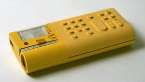 Primary view of object titled 'Portable Printing Calculator'.