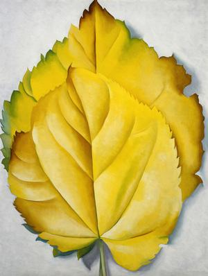 Primary view of object titled 'Yellow Leaves'.
