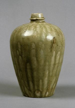 Primary view of object titled 'Wine Flask'.