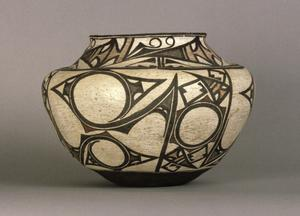 Primary view of object titled 'Water Jar (Olla)'.