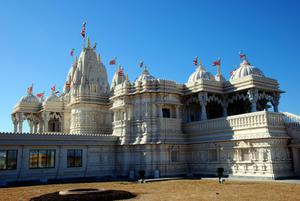Primary view of object titled 'BAPS Shri Swaminarayan Mandir and Canadian Museum of Cultural Heritage of Indo-Canadians'.