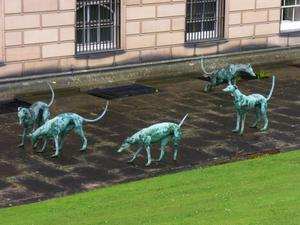 Primary view of object titled 'Greyhounds'.