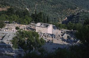 Sanctuary of Apollo with Treasury of Athenians