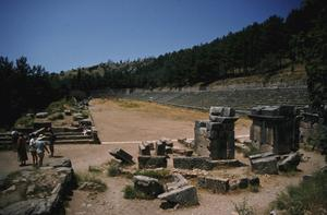 Primary view of object titled 'Stadium at Sanctuary of Apollo'.