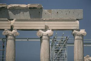 Primary view of object titled 'Erechtheion'.