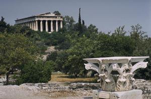 Primary view of object titled 'Temple of Hephaistos'.
