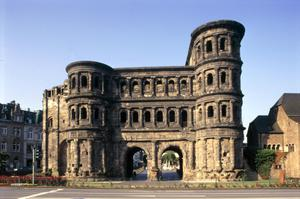 Primary view of object titled 'Porta Nigra'.