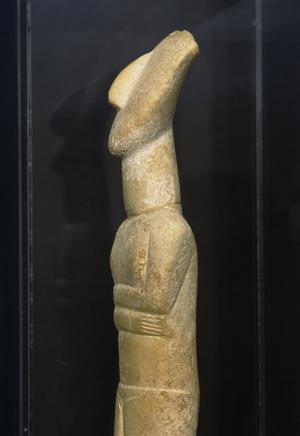 Primary view of object titled 'Cycladic Goddess'.