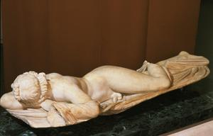 Primary view of object titled 'Sleeping Hermaphrodite'.
